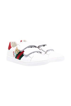 White and red sneakers GUCCI KIDS | 12 | 665430CPWB09082