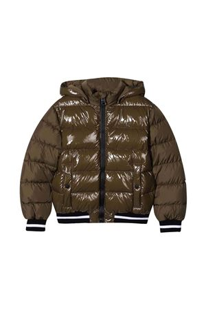 Military green down jacket HERNO KIDS | 783955909 | PI0112B122207740