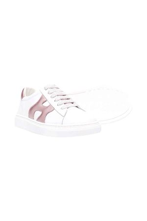 White shoes unisex  HOGAN KIDS | 12 | HXC3400DT70HB0254N