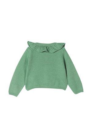 Green cardigan unisex  IL GUFO | -1619388635 | A21GF364EM220539