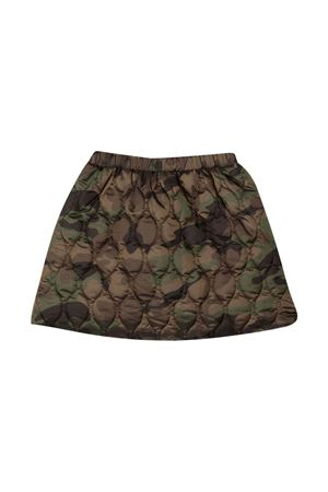 Miniskirt with camouflage pattern IL GUFO | 15 | A21GN194N4019548