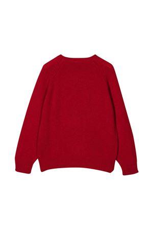 Sweater with embroidery IL GUFO | 7 | A21MA334EM220B3949