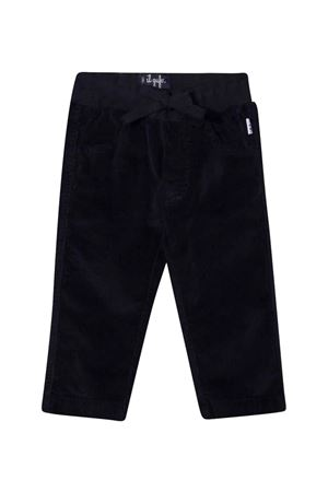 Ribbed trousers with drawstring  IL GUFO | 9 | A21PL035V6005497