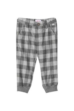 Gray checked trousers  IL GUFO | 9 | A21PL050W3051025