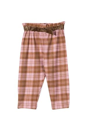 Checked trousers with print IL GUFO   9   A21PL274W3050228