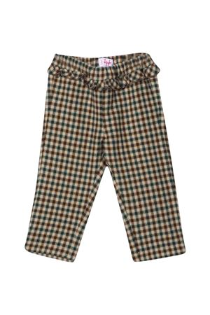 Checked trousers with print IL GUFO   9   A21PL342C3126194