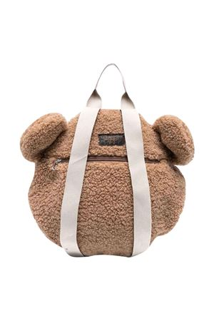 Teddy backpack with zip IL GUFO | 5032345 | A21ZO059PE015142