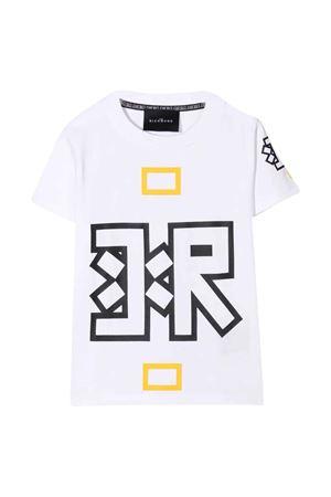 T-shirt bianca con stampa JOHN RICHMOND KIDS   8   RBA21024TSWHITE