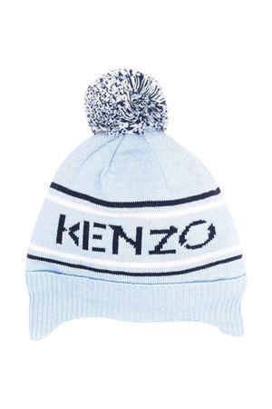 Berretto azzurro neonato KENZO KIDS | 75988881 | K01005777