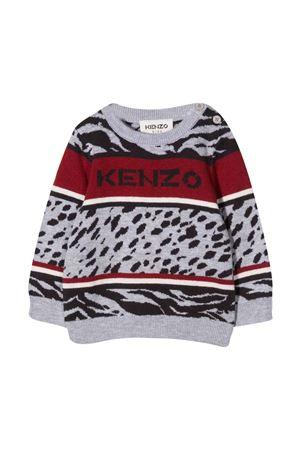 Maglione grigio unisex KENZO KIDS | -1384759495 | K05077A41