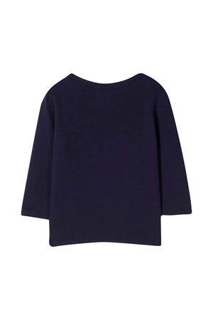 T-shirt blu neonata con stampa Elephant KENZO KIDS | 8 | K05103868