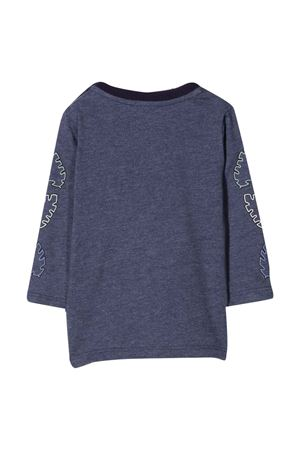 Blue T-shirt with long sleeves KENZO KIDS | 8 | K05114868