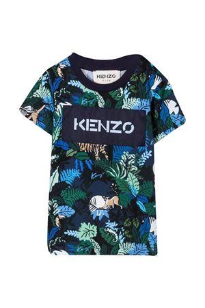 blue newborn t-shirt  KENZO KIDS | 8 | K05122868