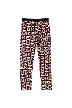 girl print trousers  KENZO KIDS | 411469946 | K1405909P