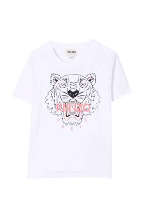 white teen t-shirt  KENZO KIDS | 8 | K15158103T