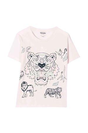 pink teen t-shirt  KENZO KIDS | 8 | K15169454T