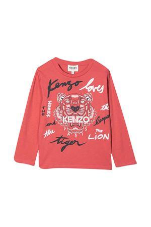 T-shirt rosa unisex KENZO KIDS | 8 | K1517048B