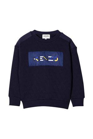 blue teen sweatshirt  KENZO KIDS | -108764232 | K25166868T