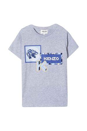 T-shirt grigia unisex KENZO KIDS | 8 | K25176A41