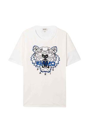 T-shirt bianca unisex KENZO KIDS | 8 | K25188152