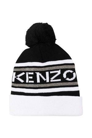 unisex black cap  KENZO KIDS | 75988881 | K5100509P
