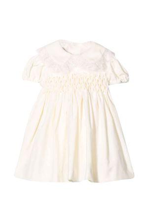 White dress with inserts la stupenderia | 11 | CCAB40V02AVORIO