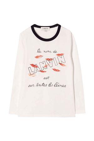 white t-shirt  Lanvin enfant | 8 | N15033117