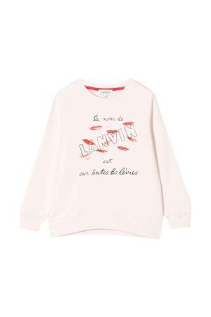 Felpa rosa bambina Lanvin enfant   -108764232   N1504045W