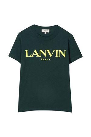 unisex dark green t-shirt Lanvin enfant | 8 | N25041666