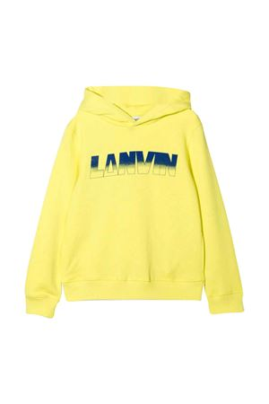 yellow teen boy sweatshirt  Lanvin enfant | -108764232 | N25050549T