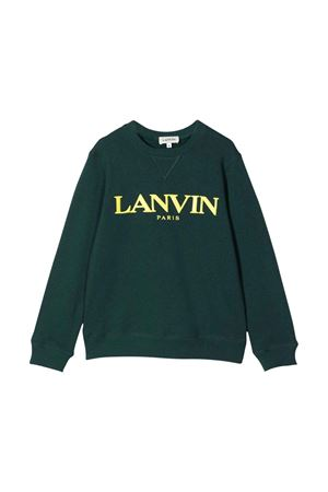 unisex green sweatshirt  Lanvin enfant | -108764232 | N25053666