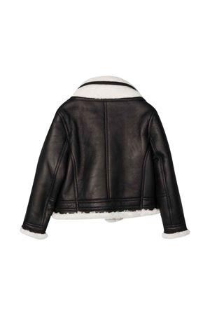 Giacca marrone bambino con zip. Les HOMMES | 3 | KLL272171U9001