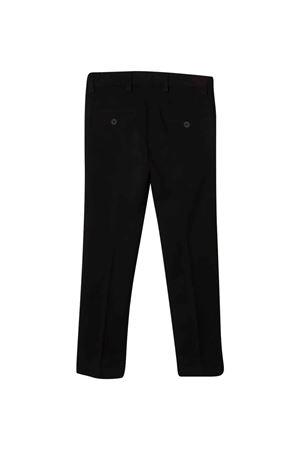 Pantaloni neri teen Les HOMMES | 9 | KLP101324U9000T