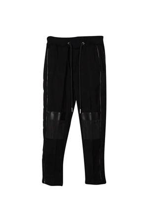 Pantaloni neri teen con coulisse Les HOMMES | 9 | KLP204324L9000T