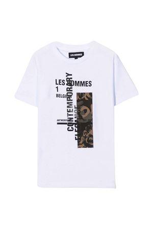 T-shirt bianca teen Les HOMMES | 8 | KLT220739P1000T