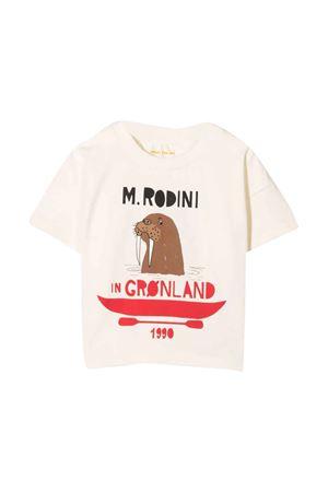 White T-shirt  MINI RODINI | 8 | 2172010311OFFWHITEB