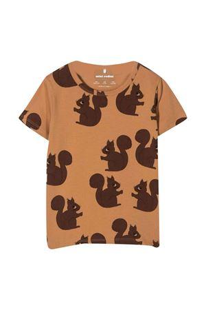 Brown t-shirt unisex MINI RODINI | 8 | 2172010516BROWN