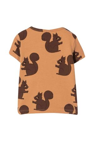 Brown T-shirt unisex MINI RODINI   8   2172010516BROWNB
