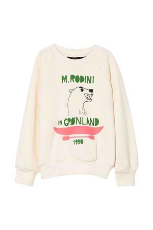 White sweatshirt   MINI RODINI | -108764232 | 2172015111OFFWHITEB