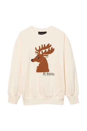 White sweatshirt  MINI RODINI   -108764232   2172016211OFFWHITE