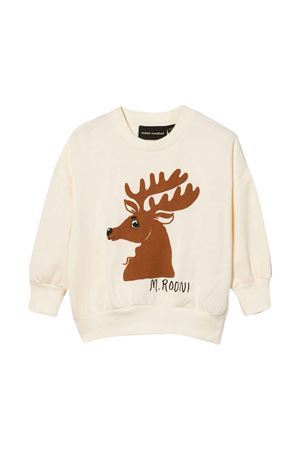 White sweatshirt MINI RODINI | -108764232 | 2172016211OFFWHITEB