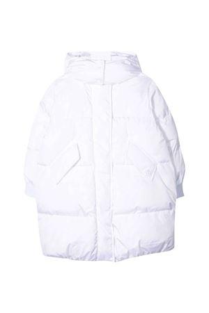 White lightweight jacket unisex with hood. MM6 KIDS | 13 | M60004MM001M6100