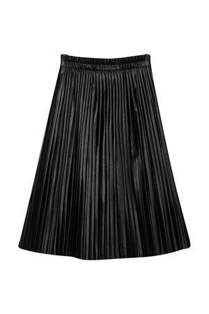 Black midi skirt pleated MM6 KIDS | 15 | M60007MM002M6900