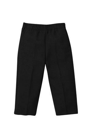 Black trousers unisex slim cut. MM6 KIDS | 9 | M60010MM030M6900