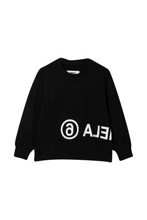 Black sweatshirt teen MM6 KIDS | -108764232 | M60017MM006M6900T