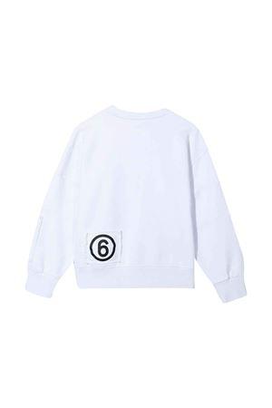 white sweatshirt  MM6 KIDS | 7 | M60027MM008M6100