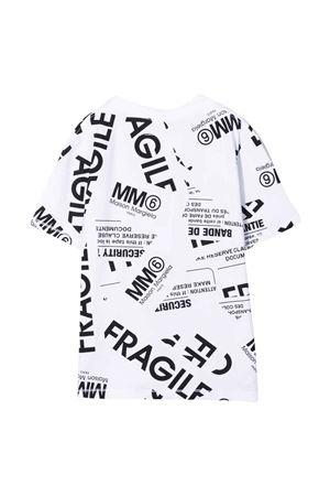 white teen t-shirt  MM6 KIDS | 8 | M60040MM012M6100T