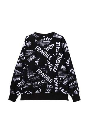 black teen sweatshirt  MM6 KIDS | -108764232 | M60041MM034M6900T