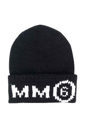 unisex black cap  MM6 KIDS | 75988881 | M60067MM028M6900