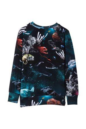 T-shirt blu bambino MOLO   8   1W21A4156342